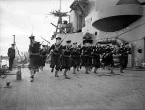 Brytyjskie i amerykańskie bagnety obu wojen światowych