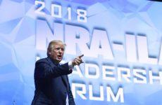 Trump na konwencji NRA