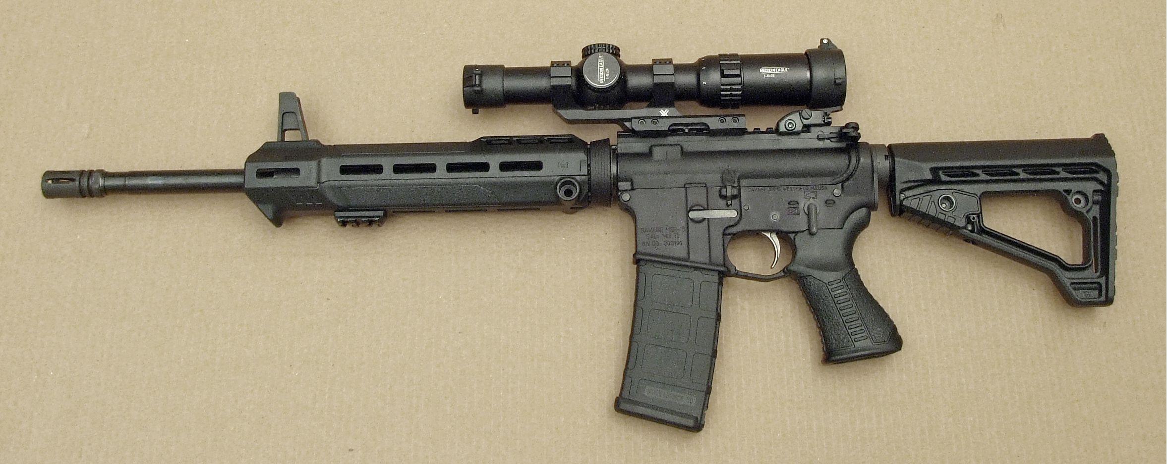 Savage MSR 15 Patrol z optyką Vortex