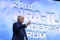 Trump nakonwencji NRA